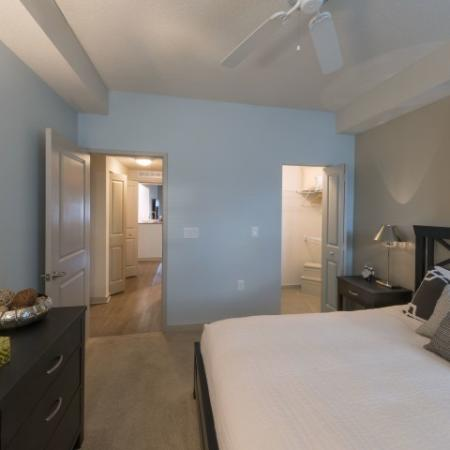 Spacious Master Bedroom | Delray Beach Luxury Apartments | The Franklin