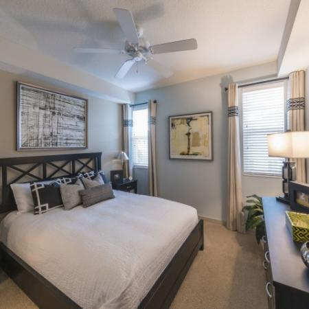 Residents in the Bedroom | Pet Friendly Apartments In Delray Beach FL | The Franklin