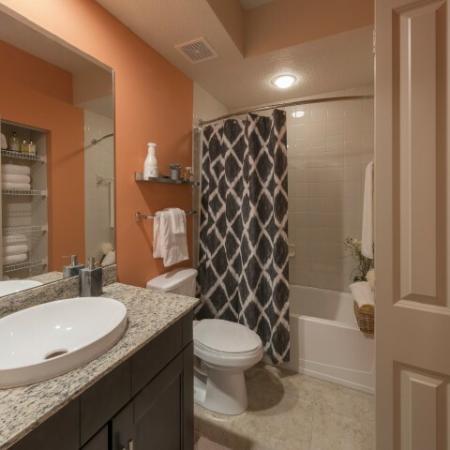 Spacious Bathroom | Delray Beach Apartments | The Franklin