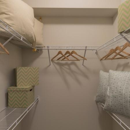 Spacious Closet | Luxury Apartments in Delray Beach | The Franklin