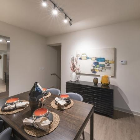 Spacious Dining Room | Luxury Apartments in Delray Beach | The Franklin