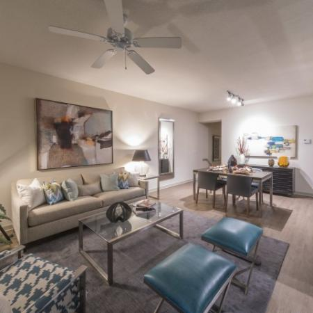 Spacious Living Room | Luxury Apartments in Delray Beach | The Franklin