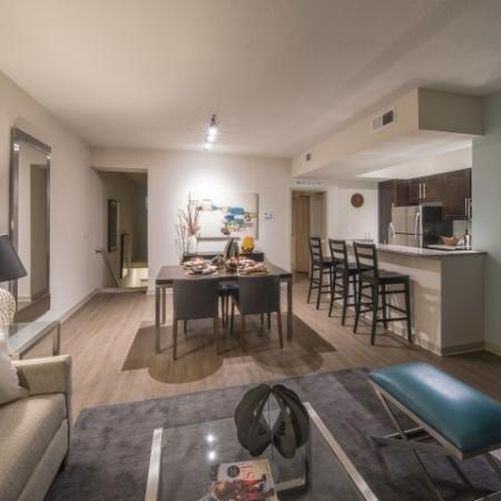 Luxurious Living Room | Pet Friendly Apartments In Delray Beach FL | The Franklin