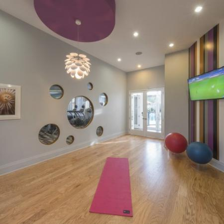 Resident Yoga Studio | Luxury Apartments in Delray Beach | The Franklin