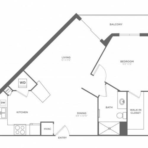 Floor Plan 6 | Luxury Apartments In Brickell Miami | SOMA at Brickell