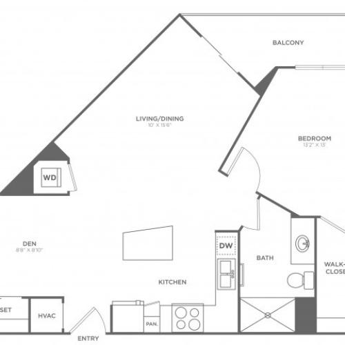 Da Vinci | 1 bed 1 bath | from 800 square feet