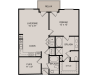 A5 1-2 | 1 bed 2 bath | from 1018 square feet