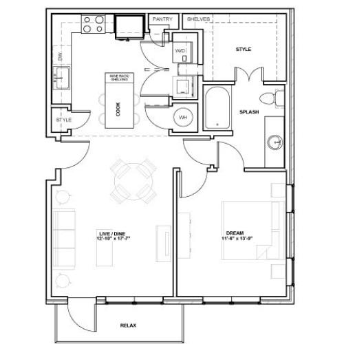 Majestic Podium | 1 bed 1 bath | from 837 square feet