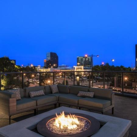 Rooftop Searing and Fire pit