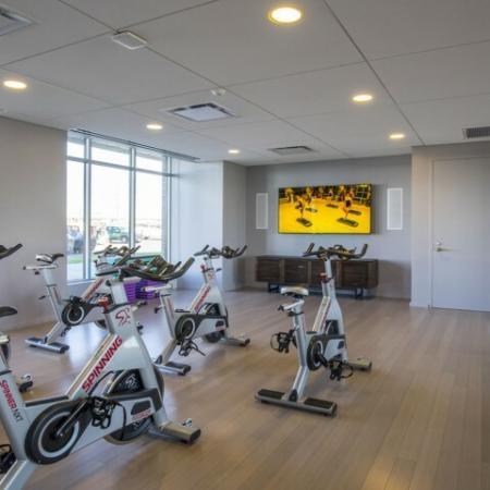 Fitness Center Bikes