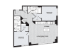 B1 | 2 bed 2 bath | from 1040 square feet