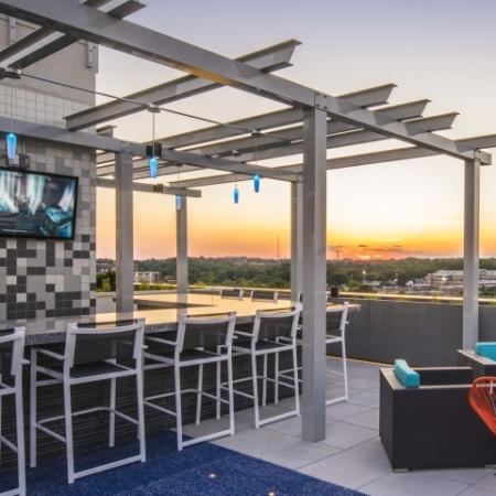 Rooftop TV Seating