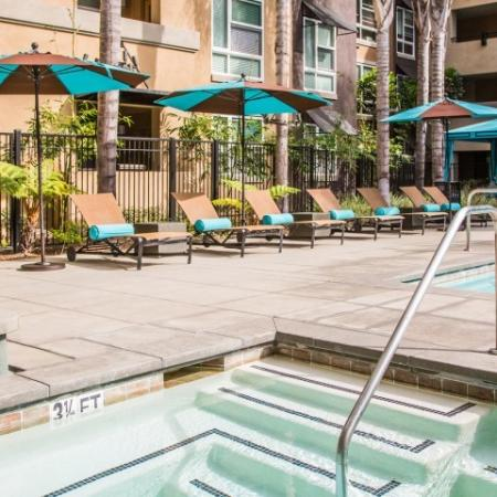 Pool Outdoor Day + Cabanas