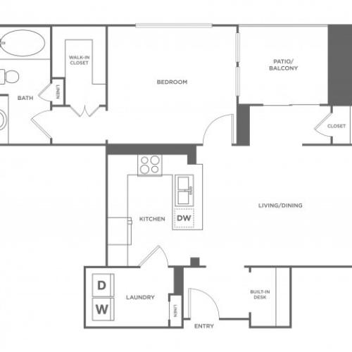 Durango | 1 bed 1 bath | from 998 square feet