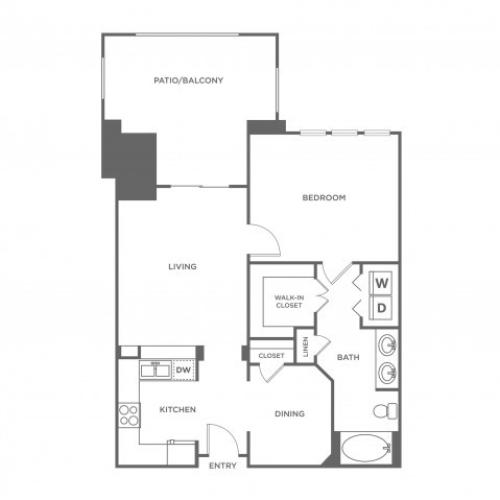 Estes | 1 bed 1 bath | from 1044 square feet