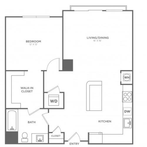 Washington West | 1 bed 1 bath | from 811 square feet