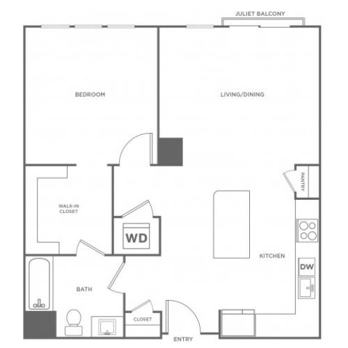 Cottonwood West | 1 bed 1 bath | from 825 square feet