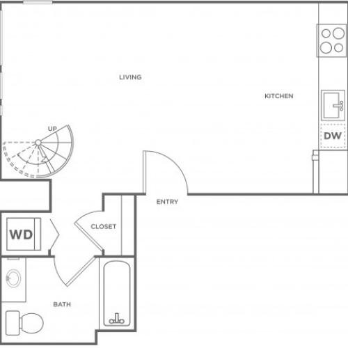 1h | 1 bed 1 bath | from 675 square feet