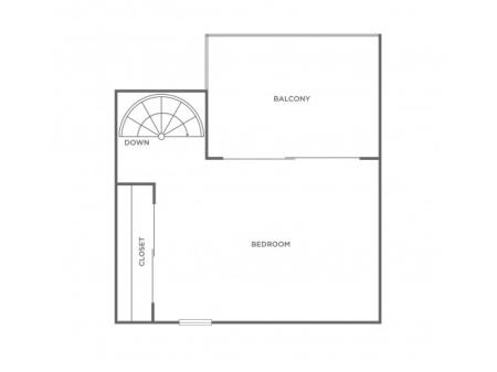 2h | 1 bed 1 bath | from 795 square feet