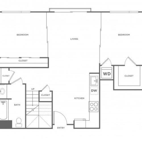 3c | 3 bed 2 bath | from 1281 square feet