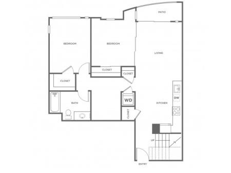 3f | 3 bed 2 bath | from 1389 square feet