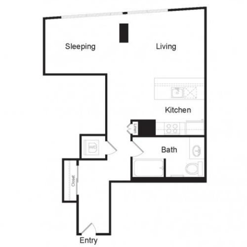 Studio H | Studio1 bath | from 699 square feet