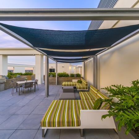 Rooftop Deck, Lounge + BBQ