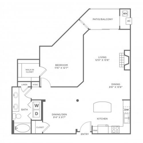 Clarity | 1 bed 1 bath | from 987 square feet