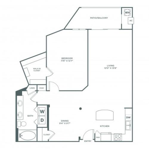 Sensibility | 1 bed 1 bath | from 911 square feet