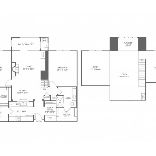 Connectivity | 2 bed 2 bath | from 1474 square feet