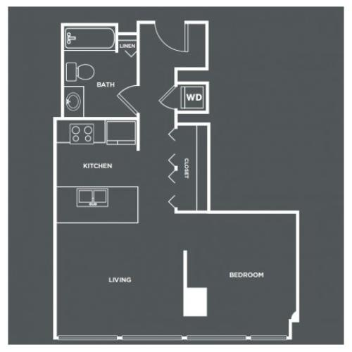 S2 | Studio1 bath | from 603 square feet
