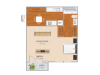 Trinity | Studio1 bath | from 386 square feet