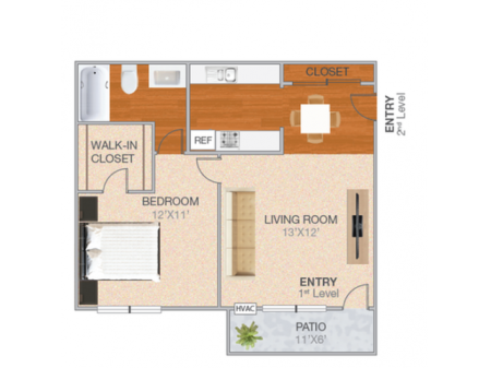 Dunsmuir | 1 bed 1 bath | from 538 square feet
