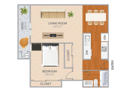 Grand Cedarville | 1 bed 1 bath | from 773 square feet
