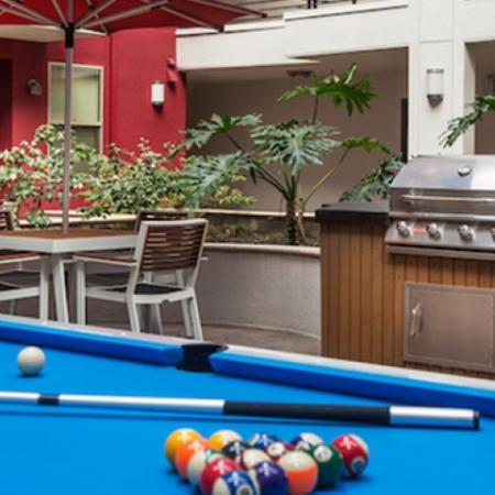 Pool Table and Grill