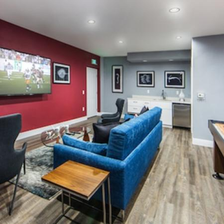 Game room and Media Room