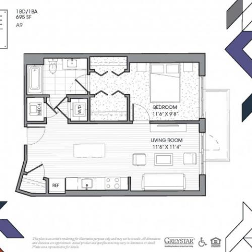 A9 - One Bedroom