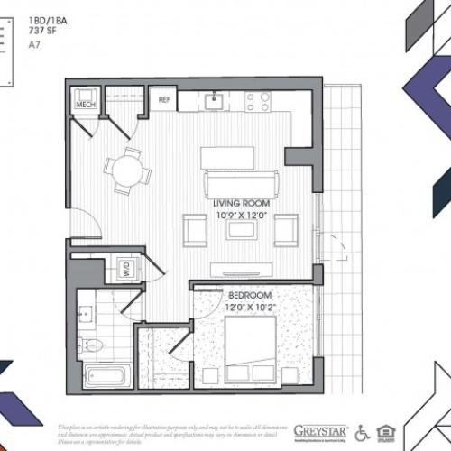 A7 - One Bedroom