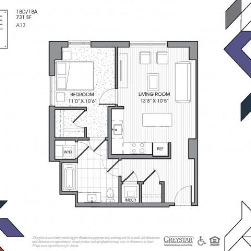 A13 - One Bedroom