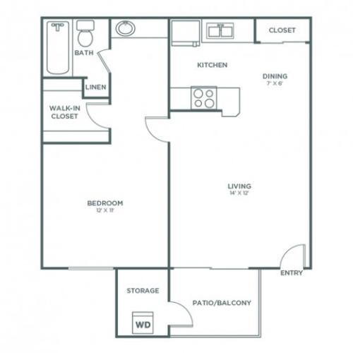 Colorado | 1 bed 1 bath | from 600 square feet