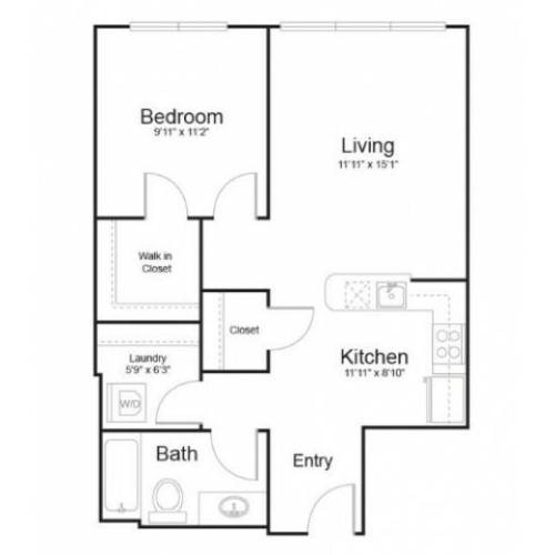 Floor plan 1s1