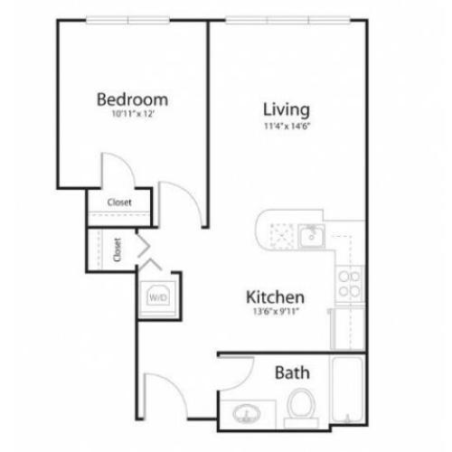 Floor plan 1u1