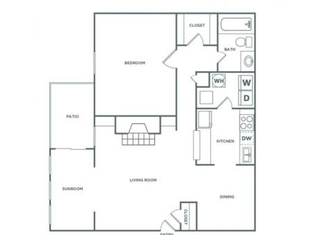1AR - 1 Bedroom - Luxe | 1 bed 1 bath | from 860 square feet