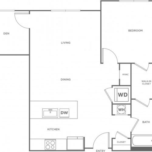 Birch East | 1 bed 1 bath | from 903 square feet