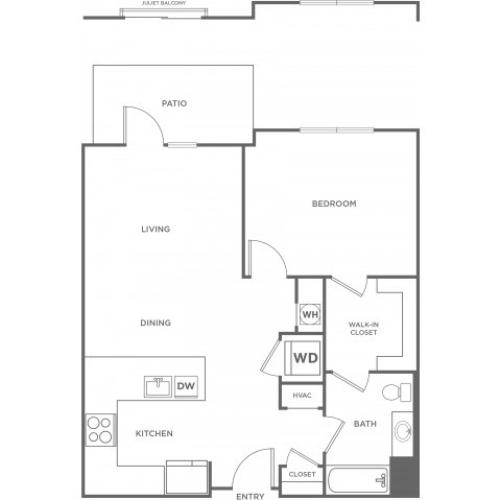 Cedar East | 1 bed 1 bath | from 792 square feet
