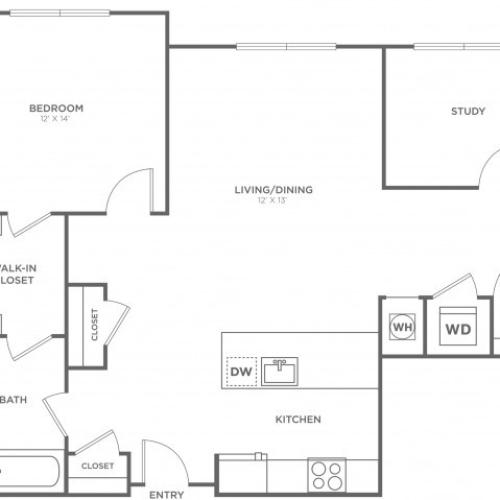 Maple East | 1 bed 1 bath | from 1003 square feet