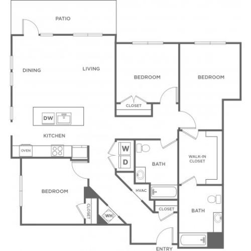 Fir | 3 bed 2 bath | from 1677 square feet