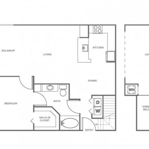 A4P | 1 bed 1 bath | from 1173 square feet