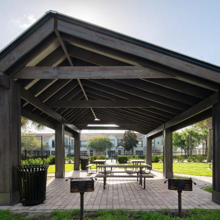 Outdoor Covered seating