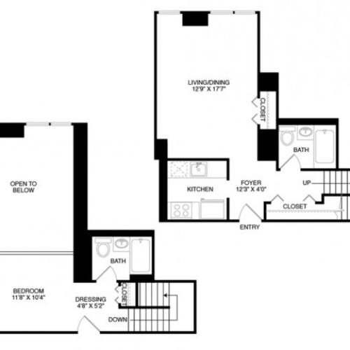 S7 | Studio1 bath | from 835 square feet